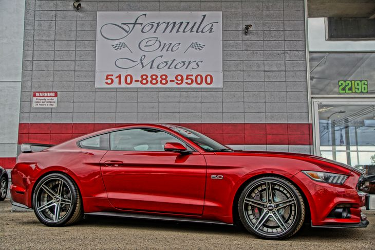 2015 Ford Mustang premium GT Engine 50L Ti-Vct V8 50-50 Folding Bench Front Facing Fold Forward