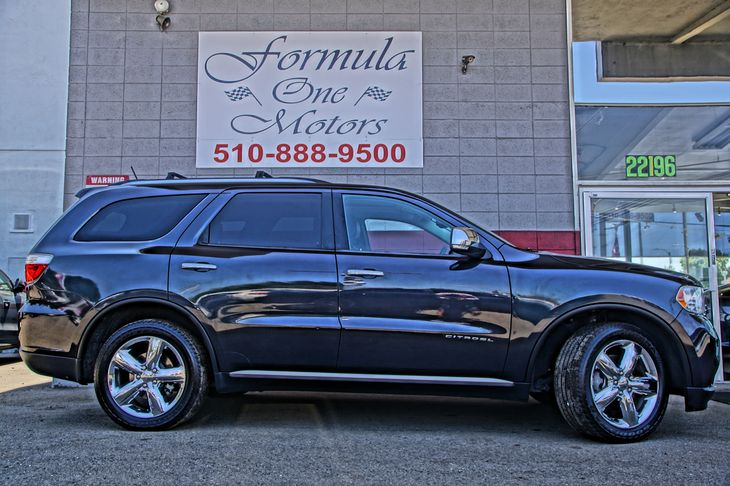 2013 Dodge Durango Citadel 3Rd Row Remote Headrest Lowering 8-Way Pwr Driver Seat WMemory -Inc