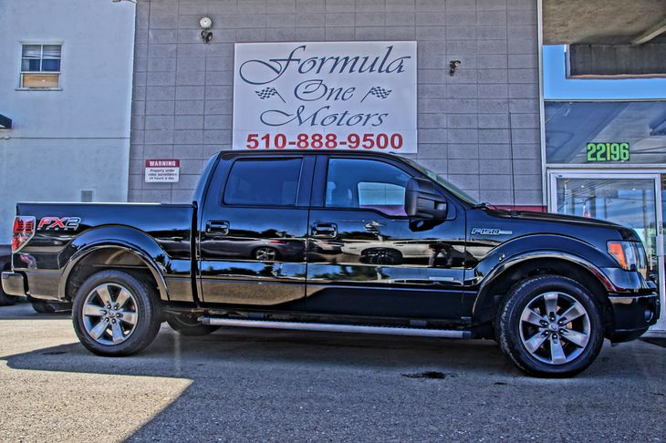 2012 Ford F-150 XL 35L V6 Ecoboost Engine Air Conditioning AC Black Vinyl Floor Covering NA