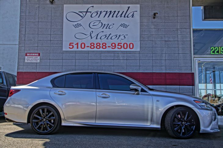 2013 Lexus GS 350  8 Central Control Touch Screen Air Conditioning Multi-Zone AC Audio Mp3