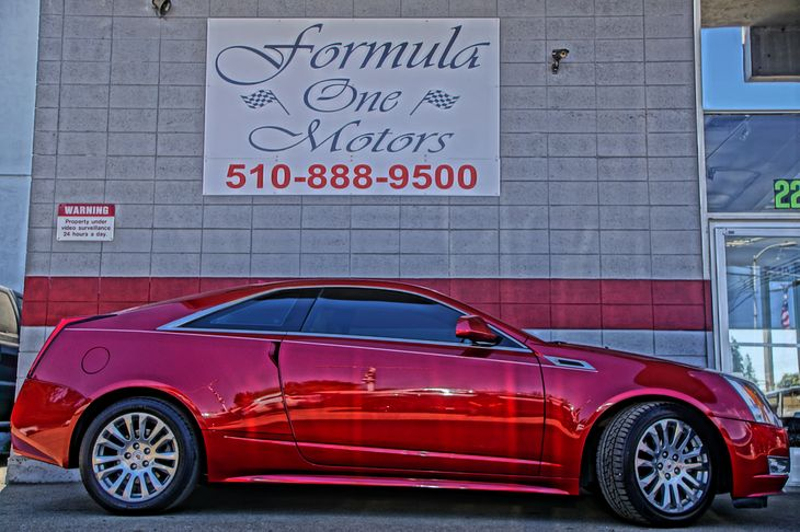 2012 Cadillac CTS Coupe Performance Engine 36L Variable Valve Timing V6 Di Direct Injection Air