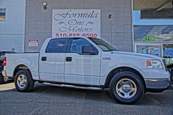 2005 Ford F-150 XLT 46L Efi V8 Engine Audio Cd Player Convenience Adjustable Steering Wheel