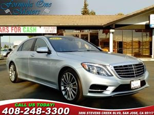 2015 MERCEDES S 550 Sedan Carfax Report Audio  Auxiliary Audio Input Audio  Cd Changer Audio