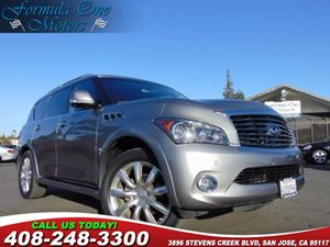 2011 INFINITI QX56 8-passenger Carfax Report H01 Theater Pkg H02 Technology Pkg Audio  Aux