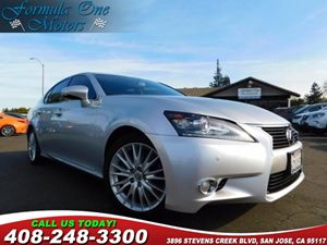 2013 Lexus GS 350  Carfax Report Blind Spot Monitor Luxury Pkg Premium Pkg Rear Lip Spoiler A