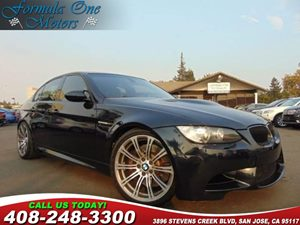 2008 BMW 3 Series M3 Carfax Report 19 Alloy Wheels Carbon Leather Interior Trim Metallic Pain