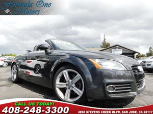 2011 Audi TT 20T Premium Plus 18 10-Spoke Aluminum Alloy Wheels Dakota Gray Metallic Heated F