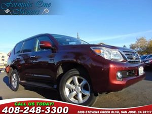2011 Lexus GX 460  Carfax Report Exhaust Tip Navigation System Premium Floor Mats Tow-Hitch Re