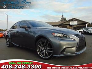 2014 Lexus IS 250  Carfax Report Backup Camera Body Side Moldings F-Sport Package F-Sport Perf