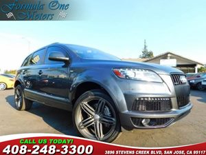 2014 Audi Q7 30L TDI Prestige 21 5-Segment-Spoke-Design Wheels 6-Step Heated Rear Seats Adapt