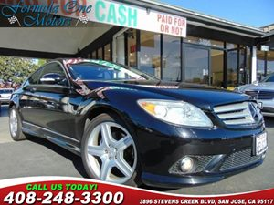 2008 MERCEDES CL550 Coupe Carfax Report 19 9-Dual-Spoke Wheels Amg Sport Pkg Audio  Cd Chang