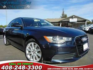 2014 Audi A6 20T Premium Plus Cold Weather Package Layered Oak Decorative Wood Inlays Audio  A