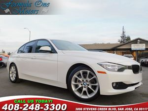 2013 BMW 3 Series 320i Carfax Report Anti-Theft Alarm System Black Dakota Leather Seat Trim Sp