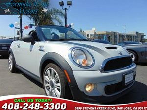 2012 MINI Cooper Roadster S 17 X 70 Infinite Stream Spoke Alloy Wheels Alarm System Black S