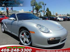 2005 Porsche Boxster S Convenience  Cruise Control Convenience  Engine Immobilizer Convenience