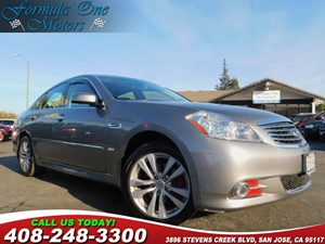 2008 INFINITI M35 X ALL WHEEL DRIVE Carfax Report G01 Advanced Technology Pkg N01 Xenon Head
