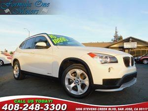 2015 BMW X1 sDrive28i Carfax Report Brushed Aluminum Trim Heated Front Seats Audio  Auxiliary A