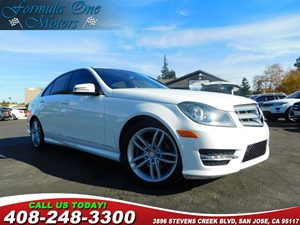2013 MERCEDES C 250 Sport Sedan IpodMp3 Media Interface Roof Spoiler Trunk Lid Spoiler AmFm S