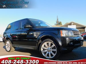2011 Land Rover Range Rover Sport SC Carfax Report 20 Style 2 Stormer Sparkle Silver Alloy Wh