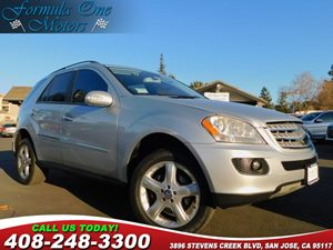 2008 MERCEDES ML350 SUV Carfax Report 6-Disc Cd Changer Heated Front Seats P3 Pkg Trailer Hitc