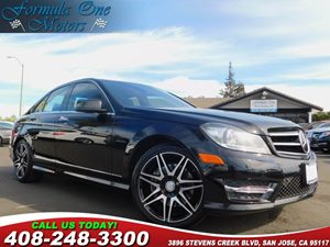 2014 MERCEDES C 350 Sport Sedan Carfax Report Chrome Door Handle Inserts Set Of 4 Driver Assist