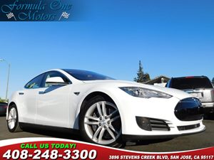 2015 Tesla Model S 85D Carfax Report All Glass Panoramic Roof Autopilot Convenience Features Nex