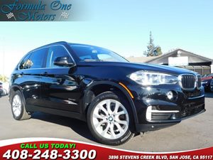 2016 BMW X5 sDrive35i Carfax Report Black Dakota Leather Upholstery Cold Weather Package Night