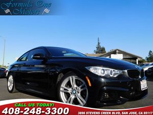 2015 BMW 4 Series 428i Anti-Theft Alarm System Black Sapphire Metallic Cold Weather Package Con