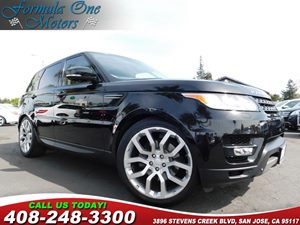 2015 Land Rover Range Rover Sport HSE Sliding Panoramic Roof WPower Blind Wheels 22 5 Split S