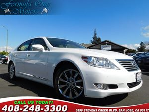 2012 Lexus LS 460  Carfax Report 18 Teleios Alloy Wheel Upgrade Cold Weather Pkg Comfort Pkg