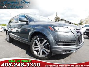 2014 Audi Q7 30L TDI Prestige Audi Sun Blinds Bang  Olufsen Advanced Sound System Prestige Pac