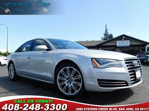 2011 Audi A8 QUATTRO 20 10-Spoke Alloy Wheels Cold Weather Pkg Convenience Pkg Leather Upgrad