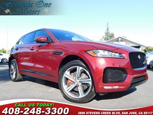 2017 Jaguar F-PACE S  Italian Racing Red Metallic This vehicle has a super nice sporty RED with