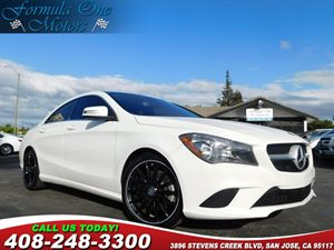 2014 MERCEDES CLA 250 Coupe Carfax Report Amg Sport Package Blind Spot Assist Heated Seats Pan