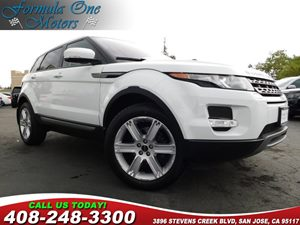 2012 Land Rover Range Rover Evoque Pure Plus Climate Comfort Pkg Hdd Navigation System Pure Plus