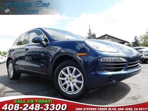 2012 Porsche Cayenne  Air Suspension WPorsche Active Suspension Management Pasm Cargo Manageme