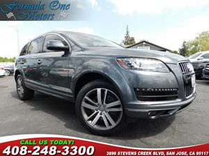 2012 Audi Q7 30T Premium Plus 20 10-Spoke V-Design Alloy Wheels Cold Weather Pkg Exhaust Tips
