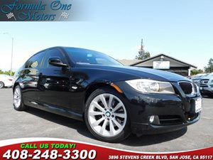 2011 BMW 3 Series 328i Anti-Theft Alarm System Black Sapphire Metallic Black Dakota Leather Sea