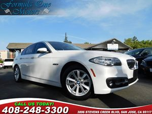 2015 BMW 5 Series 528i Mineral White Metallic Alpine White  All advertised prices exclude gover