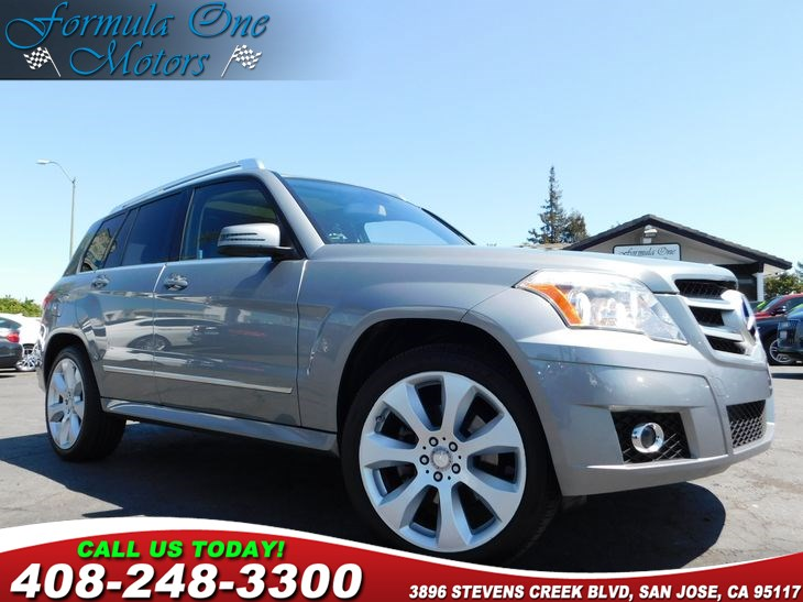 2011 MERCEDES GLK 350  Front Passenger Seat Memory Full Leather Seating Pkg Heated Front Seats