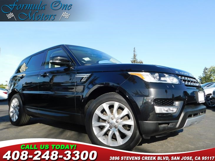 2014 Land Rover Range Rover Sport HSE Front Climate Comfort  Visibility Package Air Conditioning