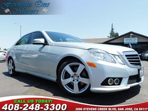 2010 MERCEDES E 350 Luxury Sedan Black Leather Seat Trim Heated Front Seats Palladium Silver Me