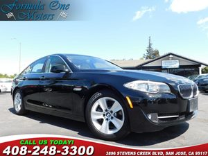 2011 BMW 5 Series 528i Cold Weather Pkg Heated Front Seats Ipod  Usb Adapter Premium Pkg Spli