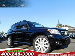 2012 MERCEDES GLK 350 4MATIC Full Leather Seating Pkg Heated Front Seats Ipod Integration Kit I