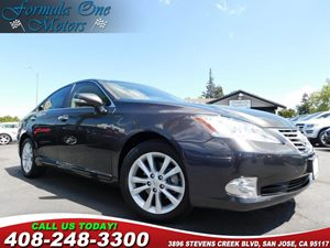 2010 Lexus ES 350  Heated  Ventilated Front Seats Wood  Leather-Trimmed Steering Wheel Air Con