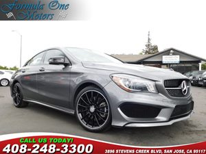 2014 MERCEDES CLA 250 4MATIC Coupe Amg Sport Package Becker Map Pilot Bi-Xenon Headlamps Editio