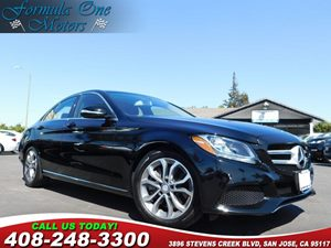 2015 MERCEDES C 300 Sedan Heated Front Seats Keyless Go Multimedia Package Panorama Sunroof Pr