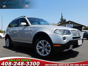 2008 BMW X3 30si High-Definition Radio Premium Pkg Privacy Glass Retractable Cargo Net Audio