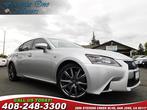 2014 Lexus GS 350  Blind Spot Monitor Cold Weather Package F Sport Package F Sport Package WCo