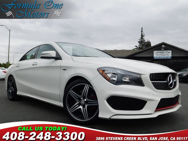 2015 MERCEDES CLA 250 Coupe Blind Spot Assist HarmanKardon Sound System Heated Front Seats Pan